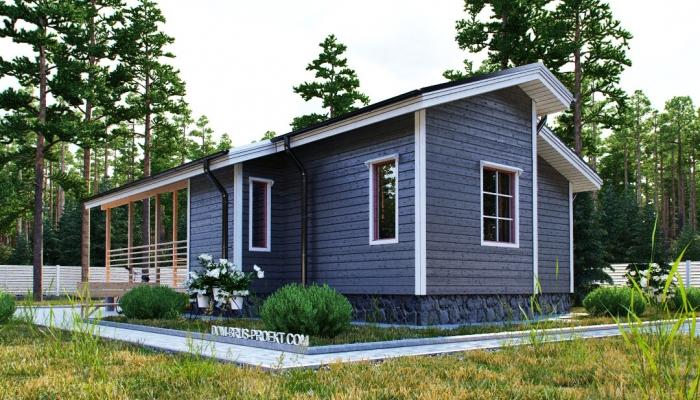 Компактный финский дом из бруса-4