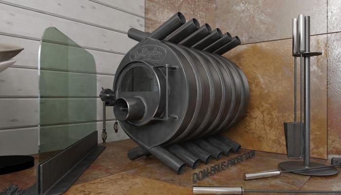 Печное отопление дома из бруса-2, Печь Булерьян (Bullerian, Булериан)