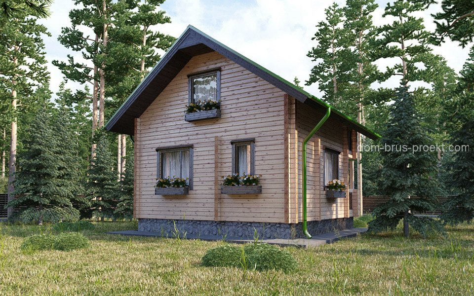 Небольшие дачные дома фото