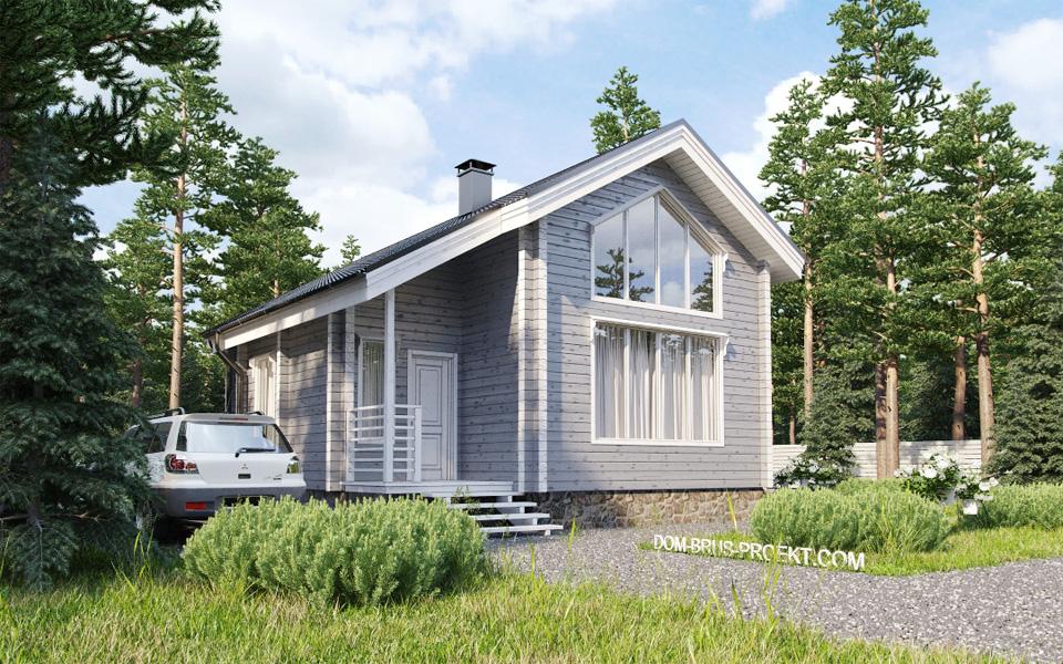 Дизайн интерьера для дома из оцилиндрованного бревна